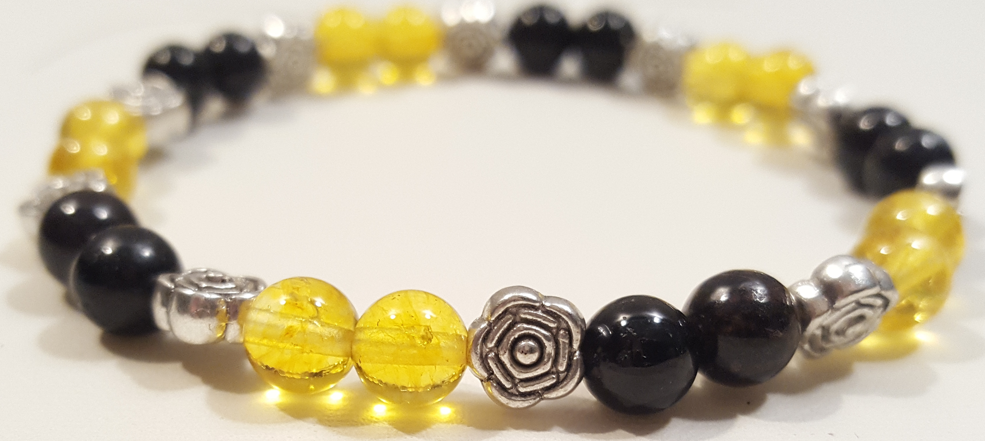 bracelet crystals singapore natural citrine quartz and
